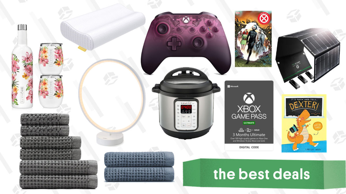 Friday's Best Deals: Children's Books, Circular Lamp, Memory Foam Pillows, Onsen Towels, and More
